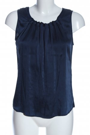 S.Marlon Strappy Top blue flecked casual look