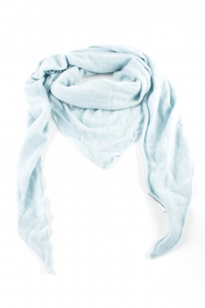 S.Marlon Woolen Scarf turquoise casual look
