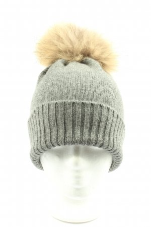 S.Marlon Pointed Hat light grey casual look