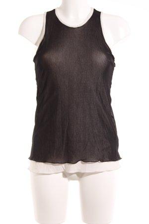 'S MaxMara Camisola negro-crema look casual