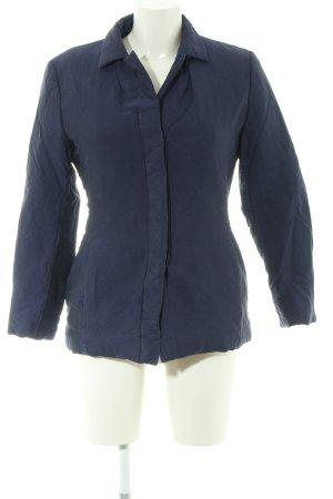 'S MaxMara Kurz-Blazer blau Casual-Look