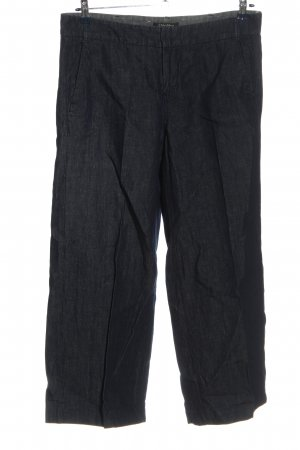 'S MaxMara Straight-Leg Jeans blau Webmuster Casual-Look
