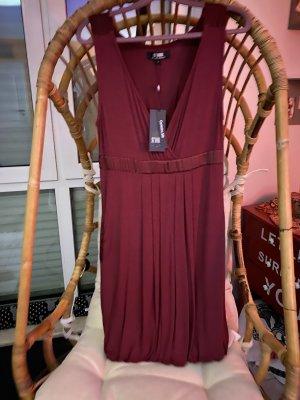 Snob Balloon Dress carmine-bordeaux