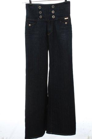 S.O.S by Orza Studio Jeans large noir style décontracté