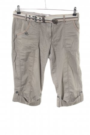 s.Oliver 3/4 Length Trousers light grey casual look