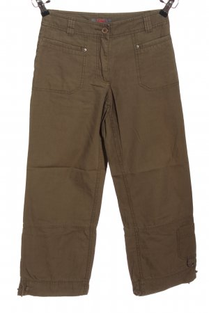 s.Oliver 3/4-Hose braun Casual-Look