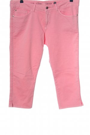 s.Oliver 3/4-Hose pink Casual-Look