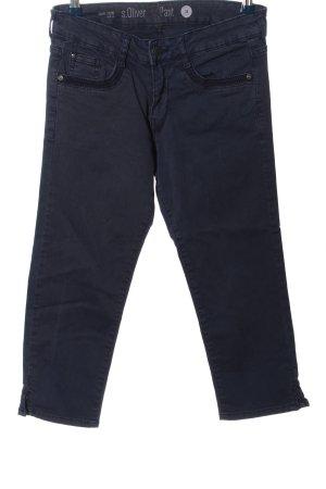 s.Oliver 3/4-Hose blau Casual-Look