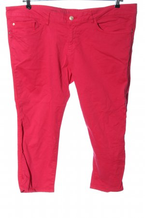 s.Oliver 3/4-Hose pink Streifenmuster Casual-Look