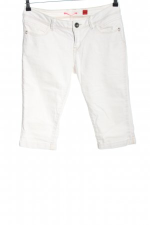 s.Oliver 3/4-jeans wit casual uitstraling