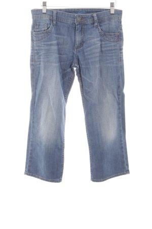 s.Oliver Jeansy 3/4 niebieski Jeansowy wygląd