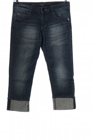 s.Oliver 3/4 Length Jeans black casual look