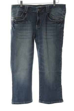 s.Oliver 3/4 Jeans dunkelblau Vintage-Look