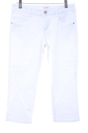 s.Oliver Jeansy 3/4 biały W stylu casual