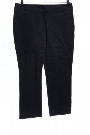 s.Oliver Pantalone a 7/8 nero stile casual