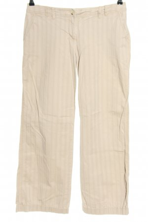 s.Oliver 7/8-Hose wollweiß Streifenmuster Casual-Look
