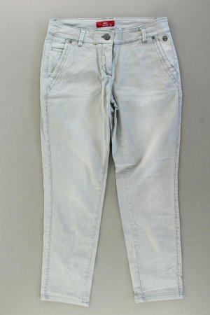 s.Oliver 7/8 Jeans Größe 36 blau aus Baumwolle