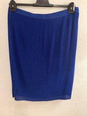 s.Oliver Pleated Skirt blue