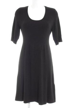 s.Oliver A-Linien Kleid schwarz Casual-Look