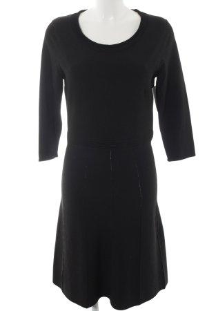 s.Oliver A-Linien Kleid schwarz Elegant