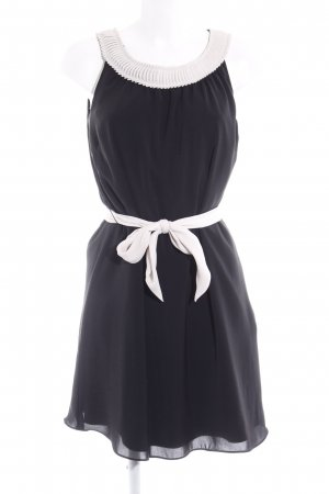 s.Oliver A-Linien Kleid schwarz-weiß