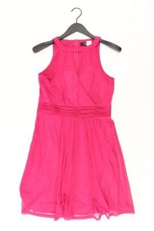 s.Oliver Abendkleid Größe 38 Ärmellos pink aus Polyester