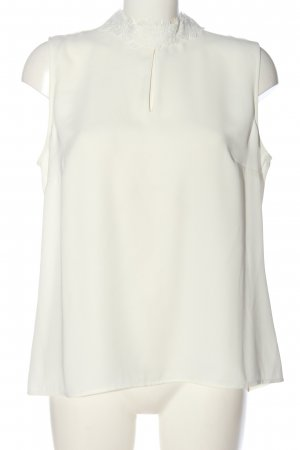 s.Oliver ärmellose Bluse weiß Casual-Look