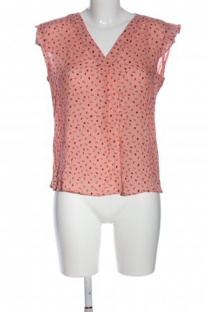 s.Oliver Sleeveless Blouse abstract pattern casual look