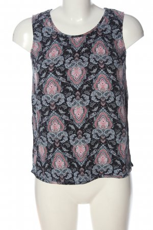s.Oliver ärmellose Bluse Mustermix Casual-Look