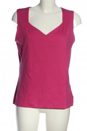 s.Oliver ärmellose Bluse pink Casual-Look