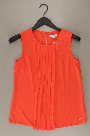 s.Oliver Ärmellose Bluse Größe 34 rot aus Polyester