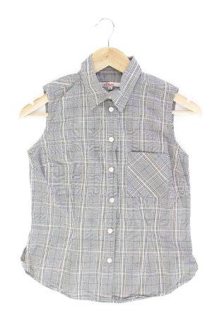 s.Oliver Ärmellose Bluse Größe 36 grau aus Baumwolle