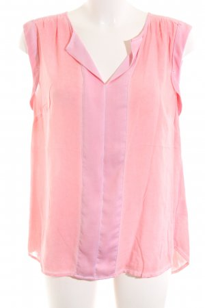 s.Oliver ärmellose Bluse pink Business-Look