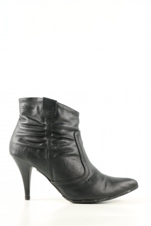 s.Oliver Ankle Boots schwarz Business-Look