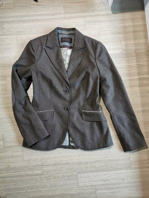 s. Oliver (QS designed) Blazer en laine marron clair-brun