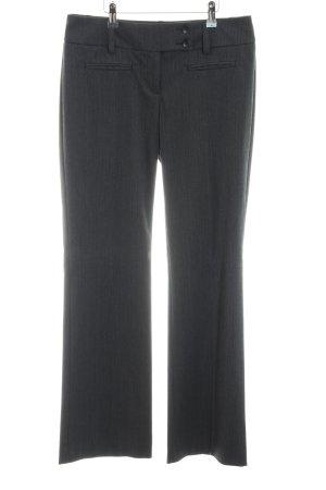 s.Oliver Pantalón de vestir negro-gris claro look casual