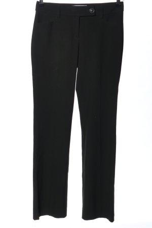 s.Oliver Pantalone da abito nero stile professionale