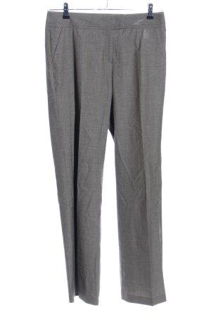 s.Oliver Pantalón de vestir gris claro moteado estilo «business»
