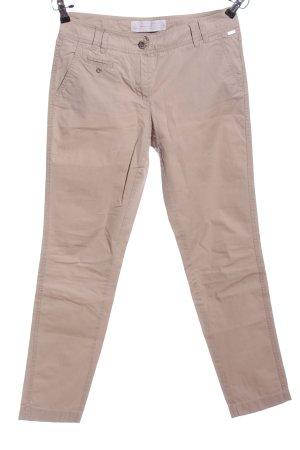 s.Oliver Pantalone da abito crema stile professionale
