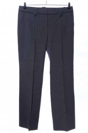 s.Oliver Suit Trouser black flecked business style