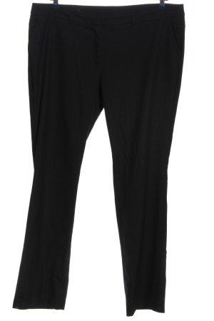s.Oliver Pantalone da abito nero stile casual
