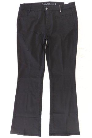s.Oliver Suit Trouser black cotton