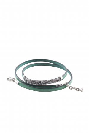 s.Oliver Bracelet green-silver-colored casual look