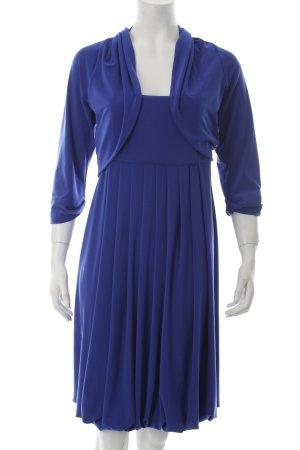 s.Oliver Babydollkleid blau Elegant