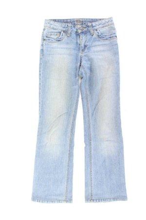 s.Oliver Baggy Jeans blue-neon blue-dark blue-azure cotton