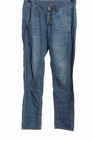 s.Oliver Baggy Pants blau Casual-Look