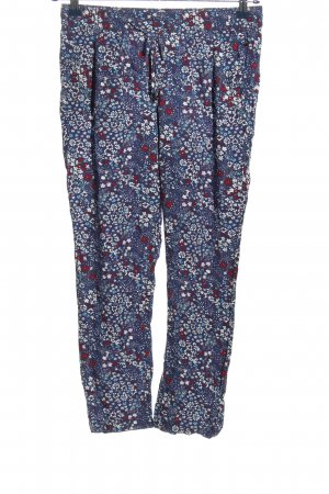 s.Oliver Baggy Pants Blumenmuster Casual-Look