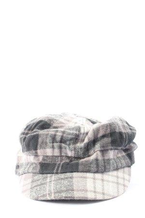 s.Oliver Kaszkiet czarny-jasnoszary Wzór w kratkę W stylu casual