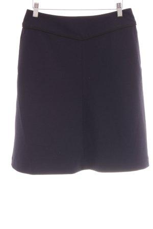 s.Oliver Ballonrok donkerblauw-zwart zakelijke stijl