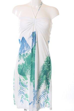 s.Oliver Bandeau Dress abstract pattern elegant